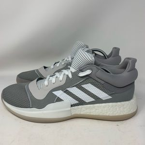 Adidas Marquee Boost Low Basketball Shoes Grey